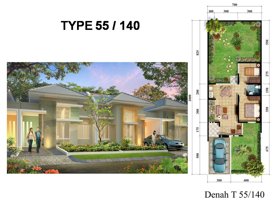 rumah ready stock design minimalis dan classic contemporer